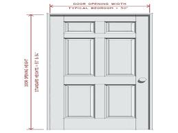 Standard Interior Door Size Excellent Rapturous Door Dimensions Standard Interior Door