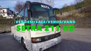 vendo bus setra 211 hd euro 9000 youtube