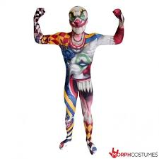 Kids Scary Halloween Costume Morphsuits Zombie Kids Monster Horror Scary Creepy Halloween