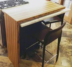 furniture cool barstools with backs and waterfall countertop for