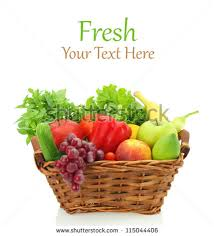 fruit and vegetable baskets fruit and vegetable basket stock images royalty free images