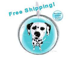 gift tree free shipping dalmatian ornament etsy