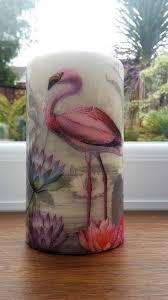pink flamingo home decor flamingo decor candle flamingo lover gift flamingo items pink