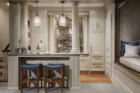 mirror tile backsplash ideas home bar traditional with mirror