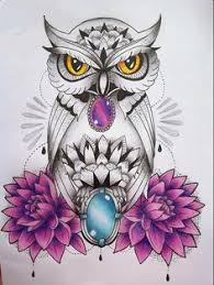 i am just so in love with owl tattoos xd owl tattoo pinterest