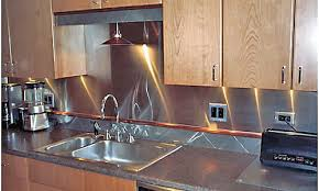 aluminum backsplash kitchen aluminum kitchen backsplash spurinteractive