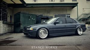 stancenation bmw bmw slammed stance works e38 stancenation wallpaper 1920x1080