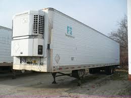 1996 utility 52 u0027 reefer trailer item d3041 sold march 2
