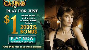 casino online deposit 1 get 20 free bonus at nostalgia casino