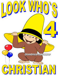 curious george birthday new personalized custom curious george birthday t shirt add name