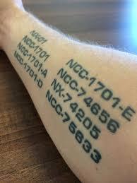 20 best tattoos star trek images on pinterest tattoo ideas