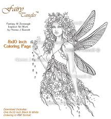 93 fairy tangles coloring adults images
