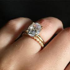 vintage oval engagement rings 3 carat oval diamond engagement ring solitaire with vintage