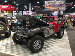 white linex jeep here are the wildest and wackiest jeep wranglers of the 2017 sema