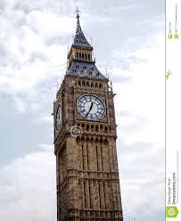 London Clock Tower by The Most Famous London Landmark Big Ben Clock Tower With Blue Sky