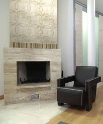 decorations simple rectangle black electric modern fireplace