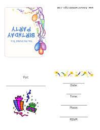 birthday invite template word mughals