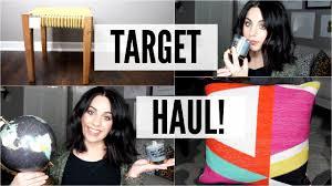 target home decor home decor haul target february 2016 youtube