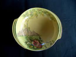 Antique Pair Of Royal Doulton Persian Vases Series Ware D3550 Lovely Small Yellow Royal Winton Bowl Or Pin Dish Ebay China