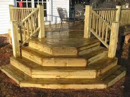 Corner Deck Stairs Design Deck Step Designs Fixs Project