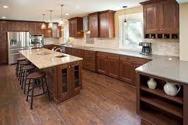 Rustic Alder Kitchen Cabinets Countryside Cabinets Kitchen Installation Portfolio U0026 Photo Gallery