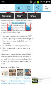 android copy paste tip how to copy and paste in android 4 0 sandwich for