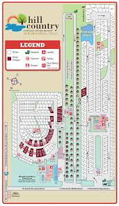 Map Of Texas Hill Country Resort Layout U2014 Hill Country Cottage And Rv Resort