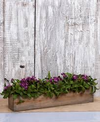 Wooden Window Flower Boxes - wood planter boxes