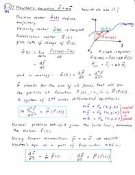 geometry net physics classical mechanics
