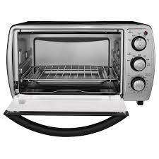 Toaster Oven With Auto Slide Out Rack Oster 6 Slice Convection Toaster Oven Black Tssttvcgbk Oster