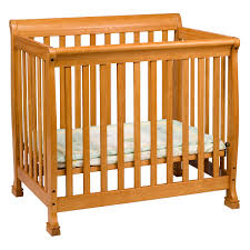 Mini Crib Sets Davinci Kalani Mini Crib In Honey Oak M5598o Free Shipping
