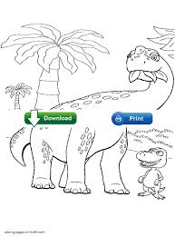 herbivorous dinosaur coloring pages