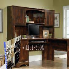 Sauder L Shaped Desk With Hutch Sauder Desks And Home Office Furniture Ebay