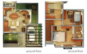Floor Plan For Two Storey House In The Philippines Duplex House Floor Plans Philippines 11 Excellent Ideas Small