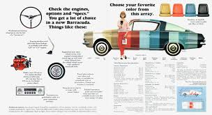 1964 barracuda specs colors facts history and performance