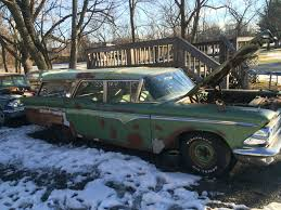 opel rat edsel villager wagon long roof rat rod station wagon not a