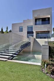 modern villa house a modern villa in spain
