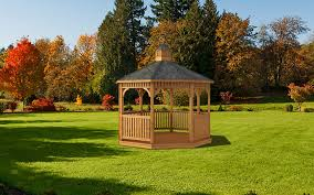 Gazebo Screen House by Wood Gazebos Designer Fontana Outdoors Garden Center