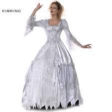 Victorian Halloween Costumes Women Aliexpress Buy Kimring Victorian Halloween Costume