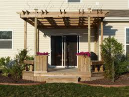 Pergola Post Design by Deck And Pergola