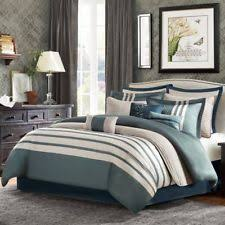 Madison Park Bedding Madison Striped Comforters U0026 Bedding Sets Ebay