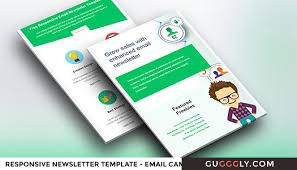 responsive email newsletter template for effective email marketing