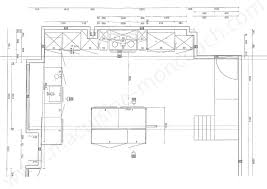 plan de la cuisine plan de la cuisine img conception 2 plan de cuisine en u