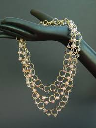 crystal chain link necklace images 103 best chain link necklace images chain links jpg
