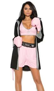 boxer costume prizefighter boxing costume