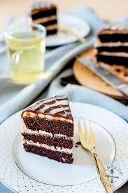 mocha cake chocolate cake coffee buttercream chocolate ganache
