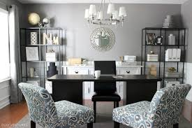 dining room to office room into office