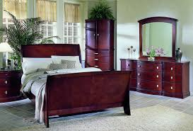 Fifth Avenue Home Decor Cherry Wood Bedroom Furniture Sizemore
