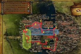 Map Quests Osgiliath Landscape Guide Entering Daily Quests Slayer Deeds