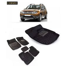 renault duster black buy coozo 3d mat for renault duster online at best prices in india